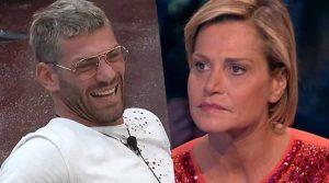 Simona affronta Clemente Russo dal vivo