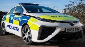Polizia londinese diventa green