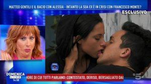 Bacio tra Matteo e Alessia al GF 15