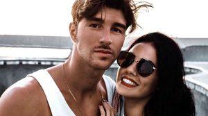 Andrea Damante in Sardegna con Giulia
