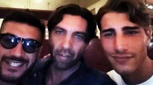 Che ci fa Tomas con Lorenzo e Ferrari?