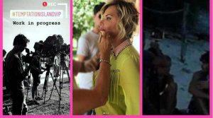 Temptation Vip Giordano Mazzocchi fotografato con una tentatrice(video)