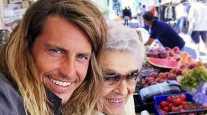Alberto Mezzetti e Nonna Pasqualina in tv insieme(video)