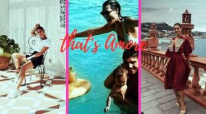 Beatrice Valli e famiglia ad Ischia(video)