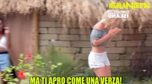 TEMPTATION ISLAND 2018 ti apro come una verza(video)