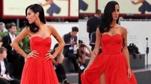 Giulia De Lellis red carpet a venezia(video)