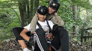 Nina Moric e Carlos sport estremi insieme(video)