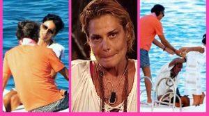 Simona Ventura, il compagno Carraro e la moretta(video)