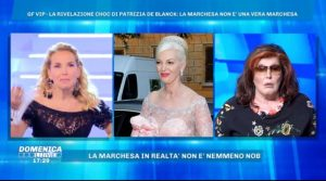 PATRIZIA DE BLANK: LA MARCHESA NON E' NOBILE(VIDEO)