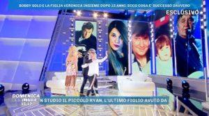 Bobby Solo e Veronica insieme a Domenica Live(video)