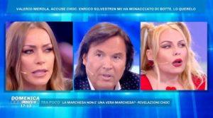 Valerio Merola contrattacca a Domenica Live(video)