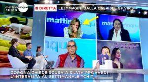 Luca Giurato confonde Silvia per Giulia Salemi(video)