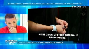 Il coming out di Marco Carta: Sono gay(Video)