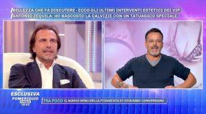 Zequila e Chicco Nalli volano insulti(Video)