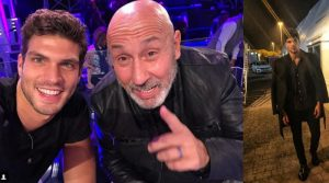 Elia Fongaro, Battista e Silvestrin backstage del gf vip(Video)