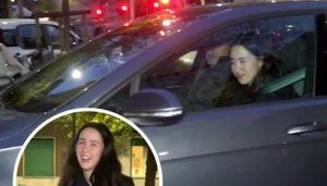 Aurora Ramazzotti dopo 3 volte supera l'esame teorico patente