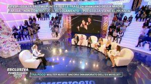 Giulia Salemi cancella la madre(Video)