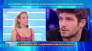 Elia commenta le dichiarazioni di Jane(Video)