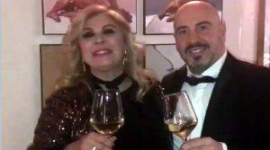 Tina Cipollari e nuovo compagno fanno gli auguri