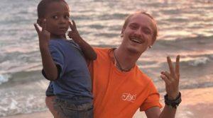 Aliosha Calipari, 24 anni, morto nel paradiso delle vacanze