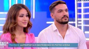 L'annuncio di Rosa Perrotta:Io e Pietro aspettiamo un figlio(Video)