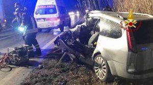 Tragico scontro sulla Corinaldese: perde la vita un'automobilista