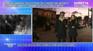 Napoli, rissa per l'eredità dopo un funerale(Video)