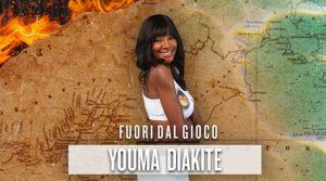 Isola dei famosi: Youma Diakite lascia