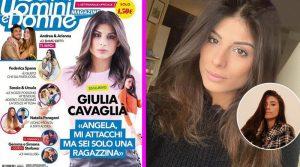 Giulia Cavaglia spara a zero su Angela nel Magazine