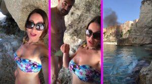 Uomini e Donne, Denise riprende un incendio (Video)
