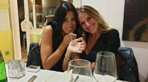 Claudia Montichiara e Rosa Lama insieme a Roma