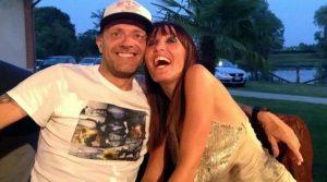 Max Pezzali:viaggio di nozze con Debora