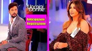 Anticipazioni Uomini e Donne registr. 27-11